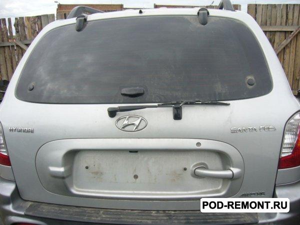 Продам а/м Hyundai Santa Fe Classic битый