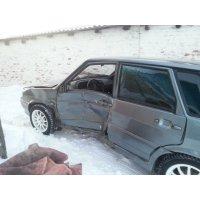 Продам а/м ВАЗ 2114 аварийный